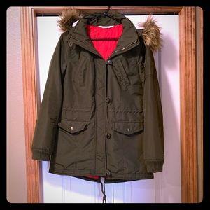 Huntet Green Large Hollister Jacket